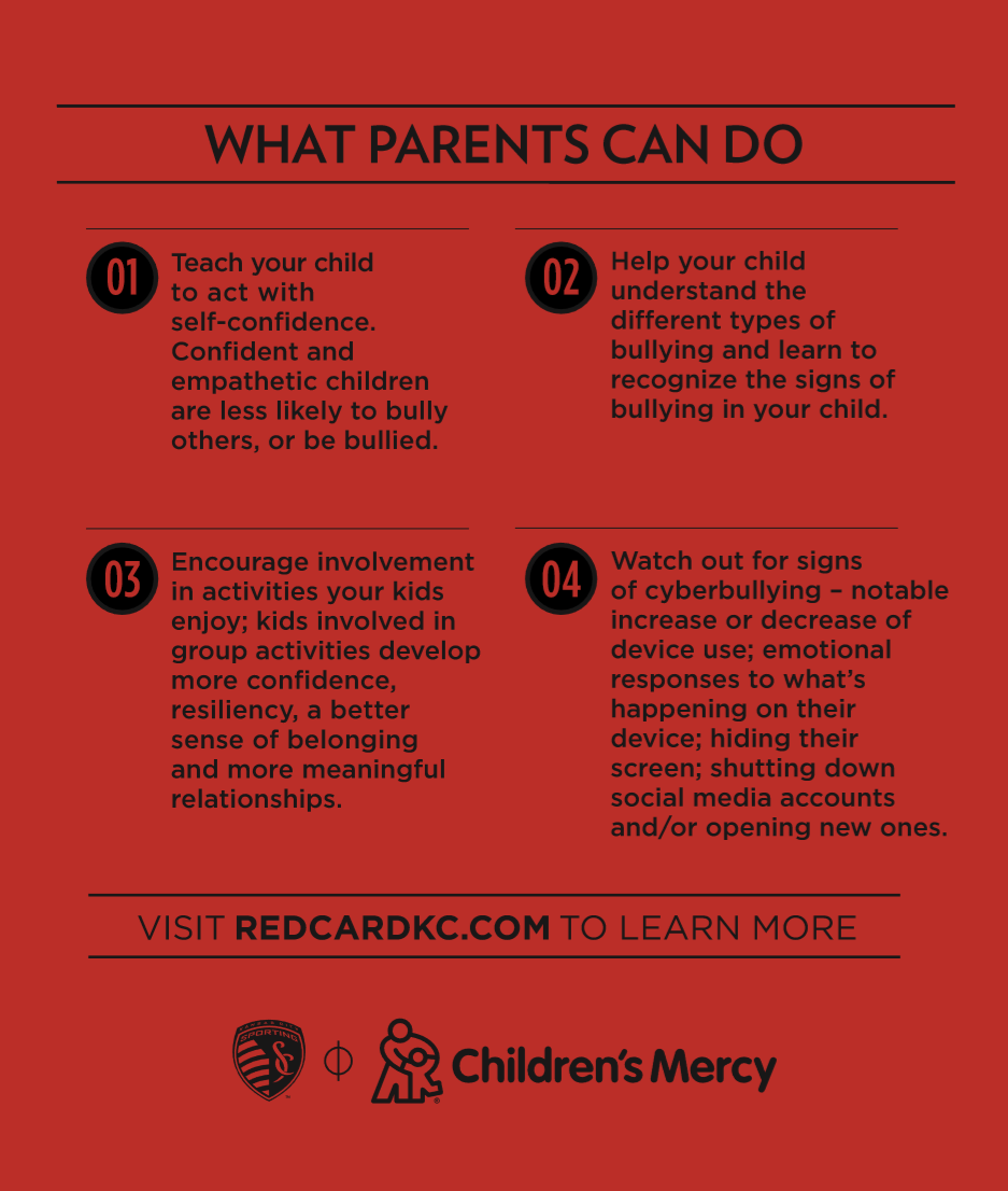 What Parents Can Do Tip Card