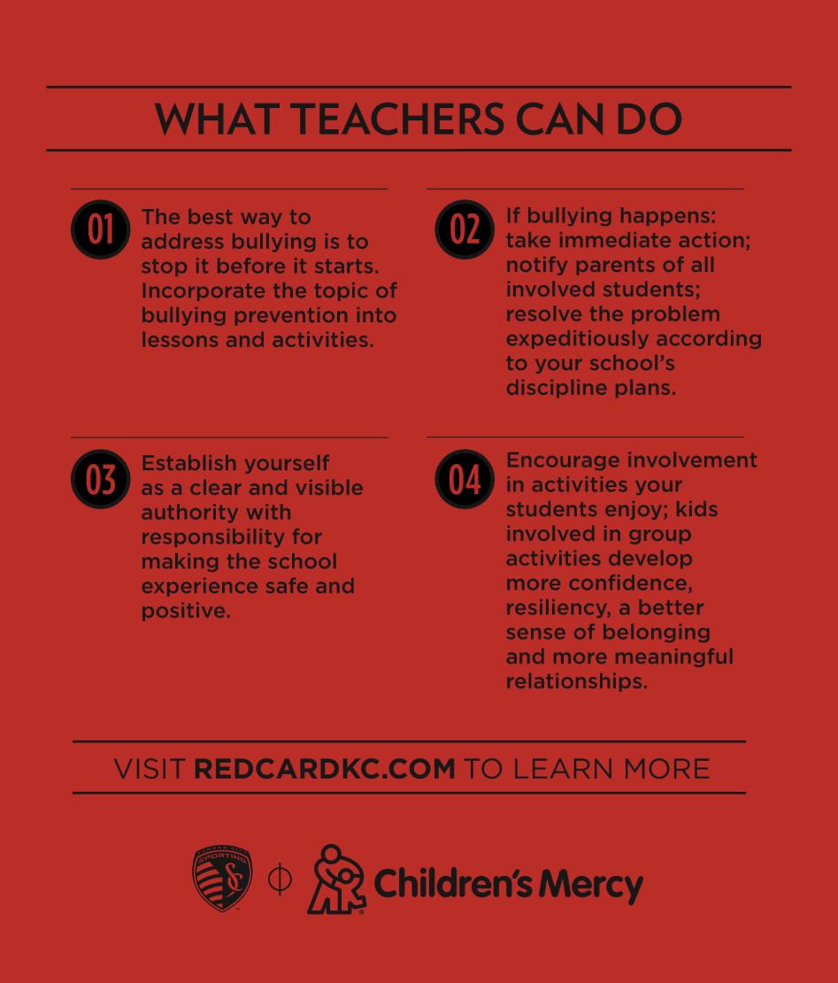 What Teachers Can Do Tip Card