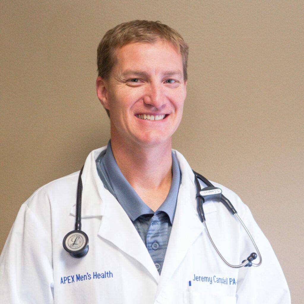 Jeremy Campbell at Apex Men's Health Clinic Omaha, NE