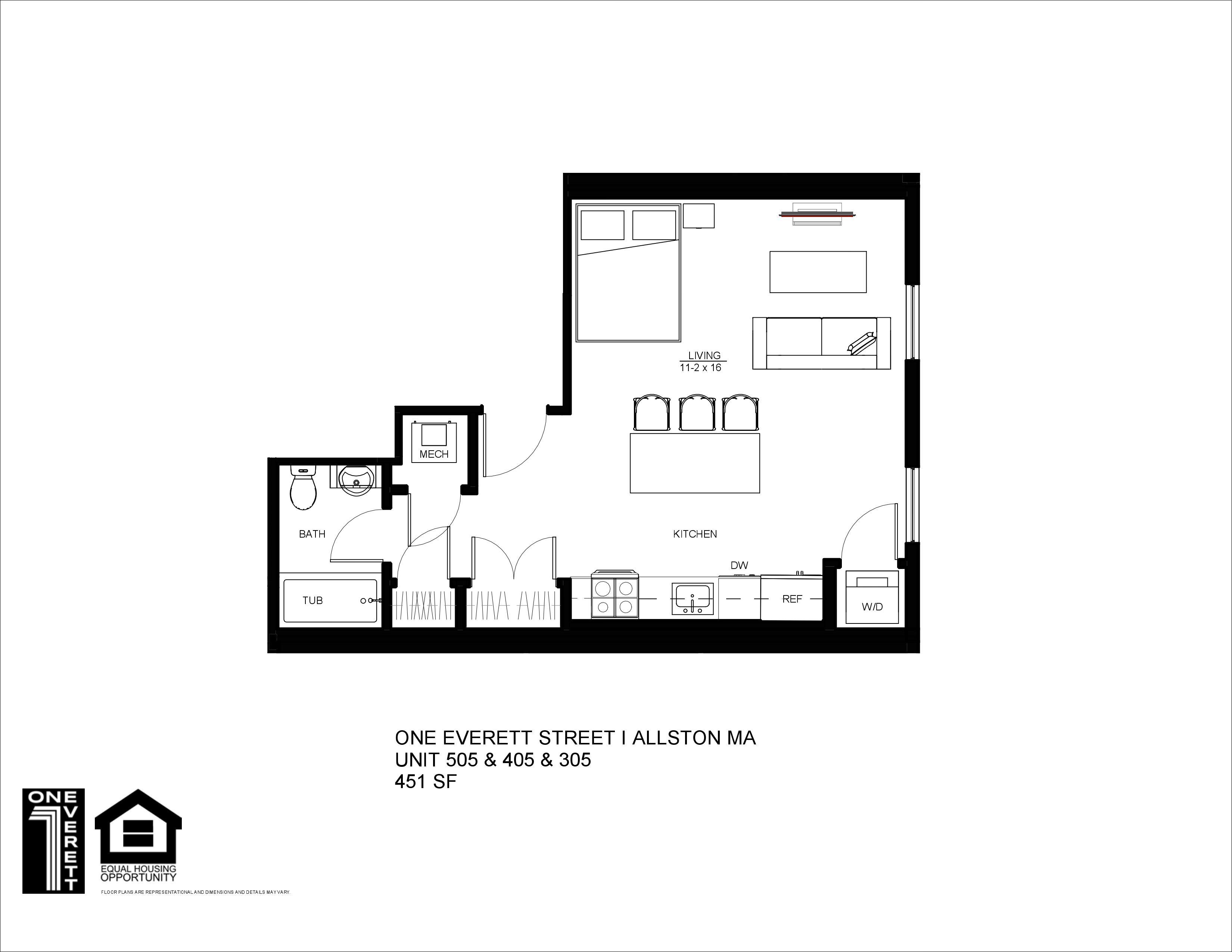 One Everett Studio