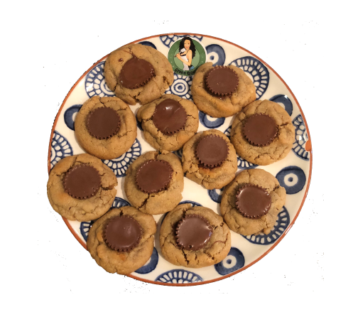 Cannabis Infused Peanut Butter Cup Cookies