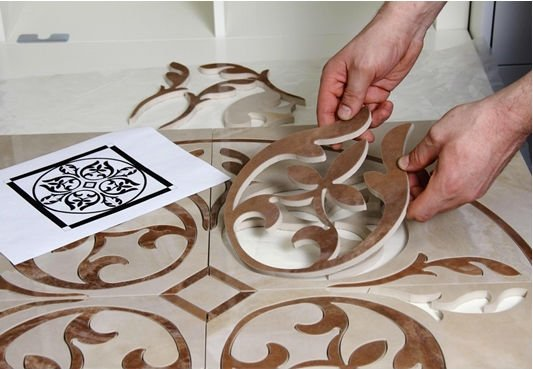 Custom tile cut