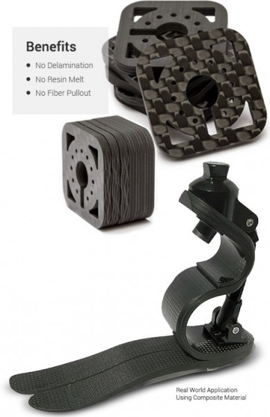 Carbon Fiber is strong a light. With the addition of WJ it can be easy to make whatever you want!