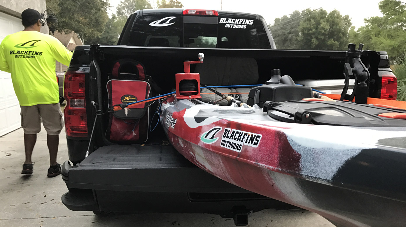 Why fish from a kayak?