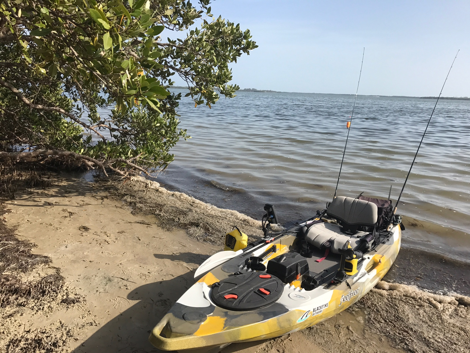 Kayak Fishing For Redfish: Try, Try and Try Again