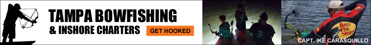 Tampa Bowfishing and Inshore Charters