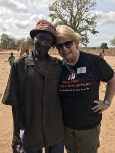 STCC instructor in Gambia