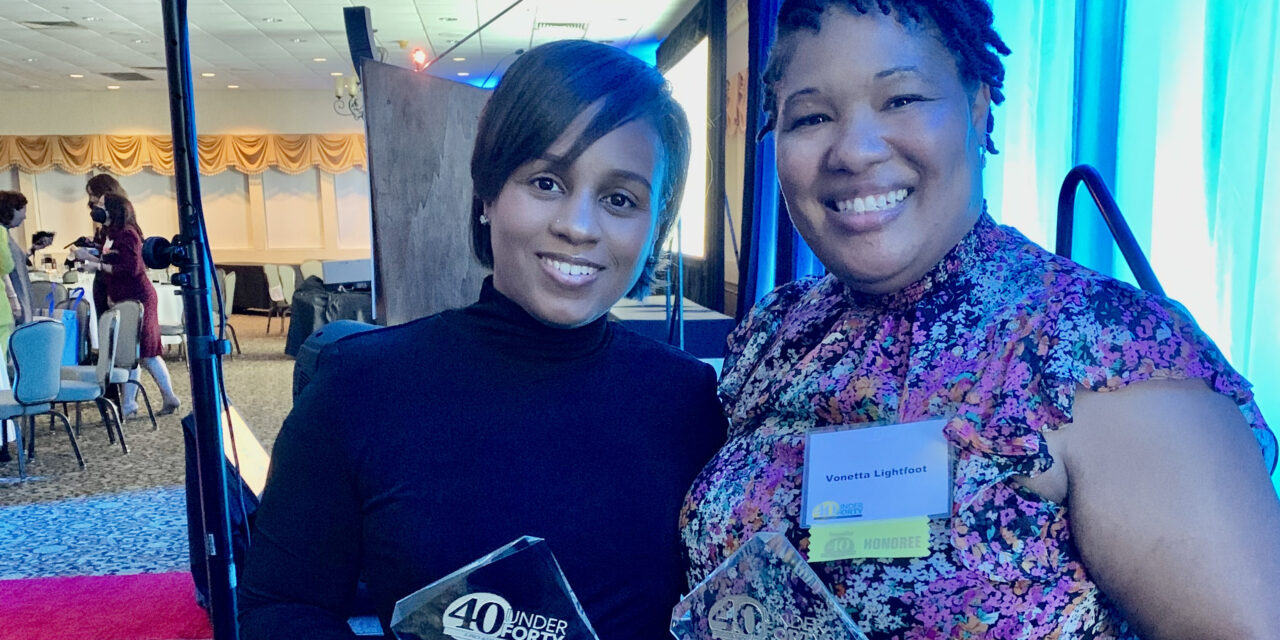 STCC staffers honored at '40 Under Forty' gala