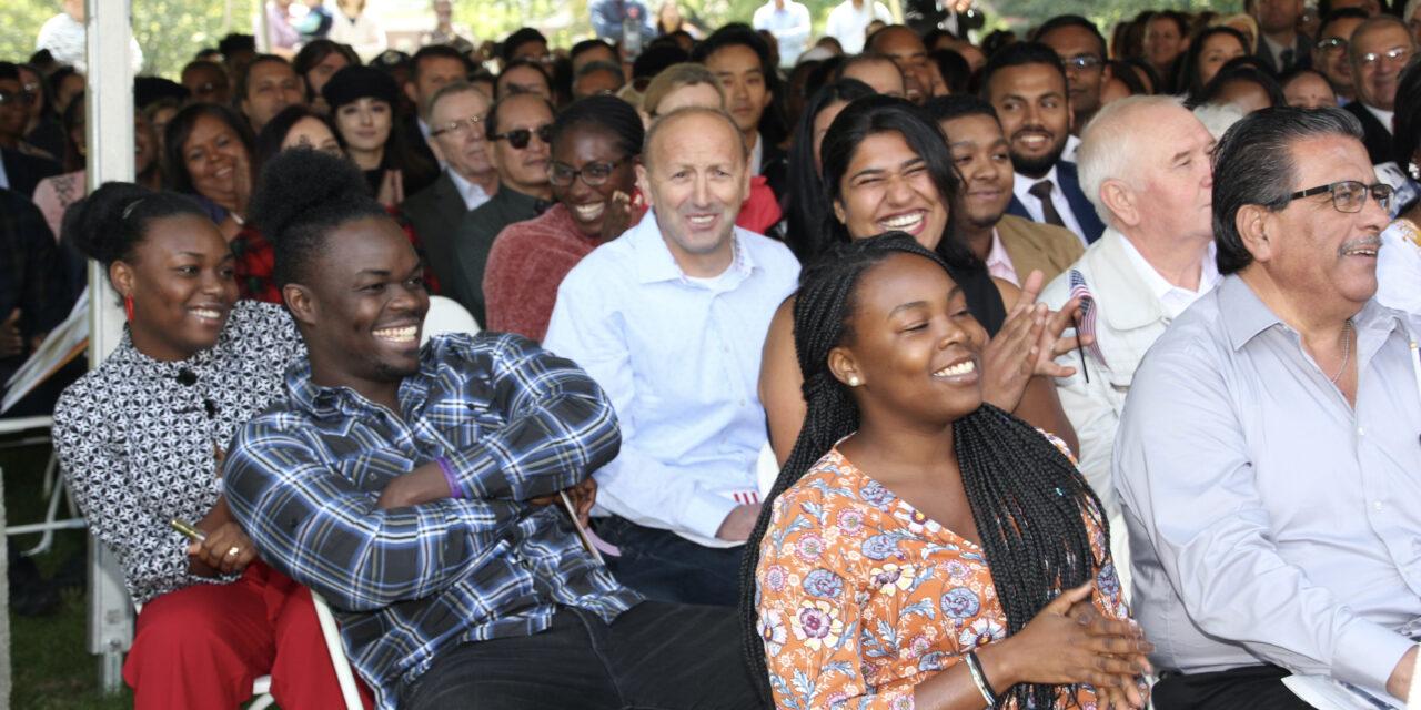 Springfield Armory Hosts Naturalization Ceremony