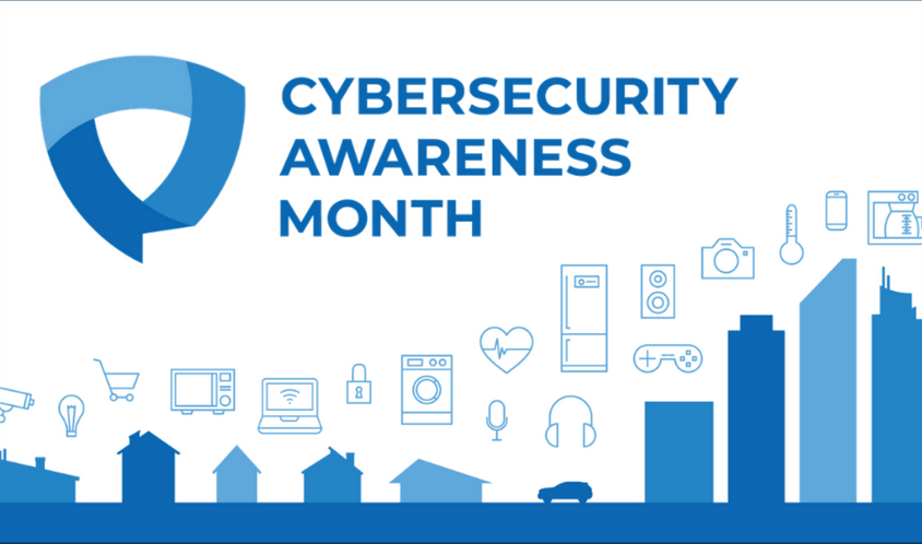 October marks National Cybersecurity Awareness Month