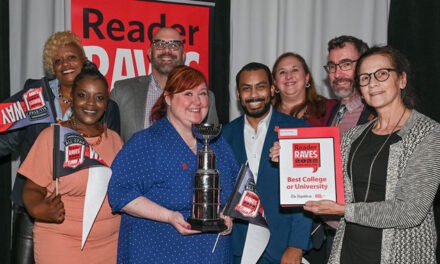 STCC celebrated at Reader Raves gala after being named 'best college or university'