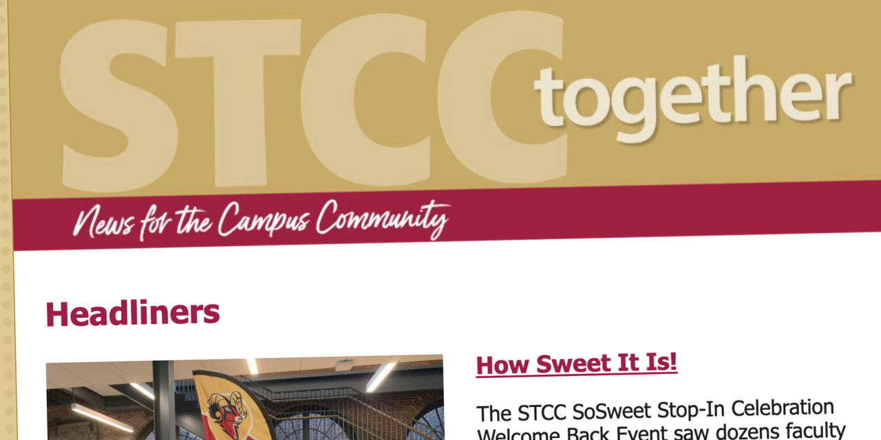 """It's Time to """"STCC Together""""!"""