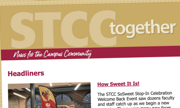 New STCC Together e-Newsletter Launches Today!