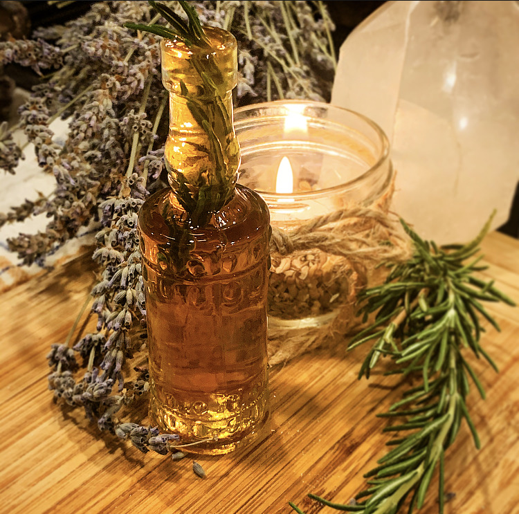 Early Grey Rosemary Cocktail Syrup