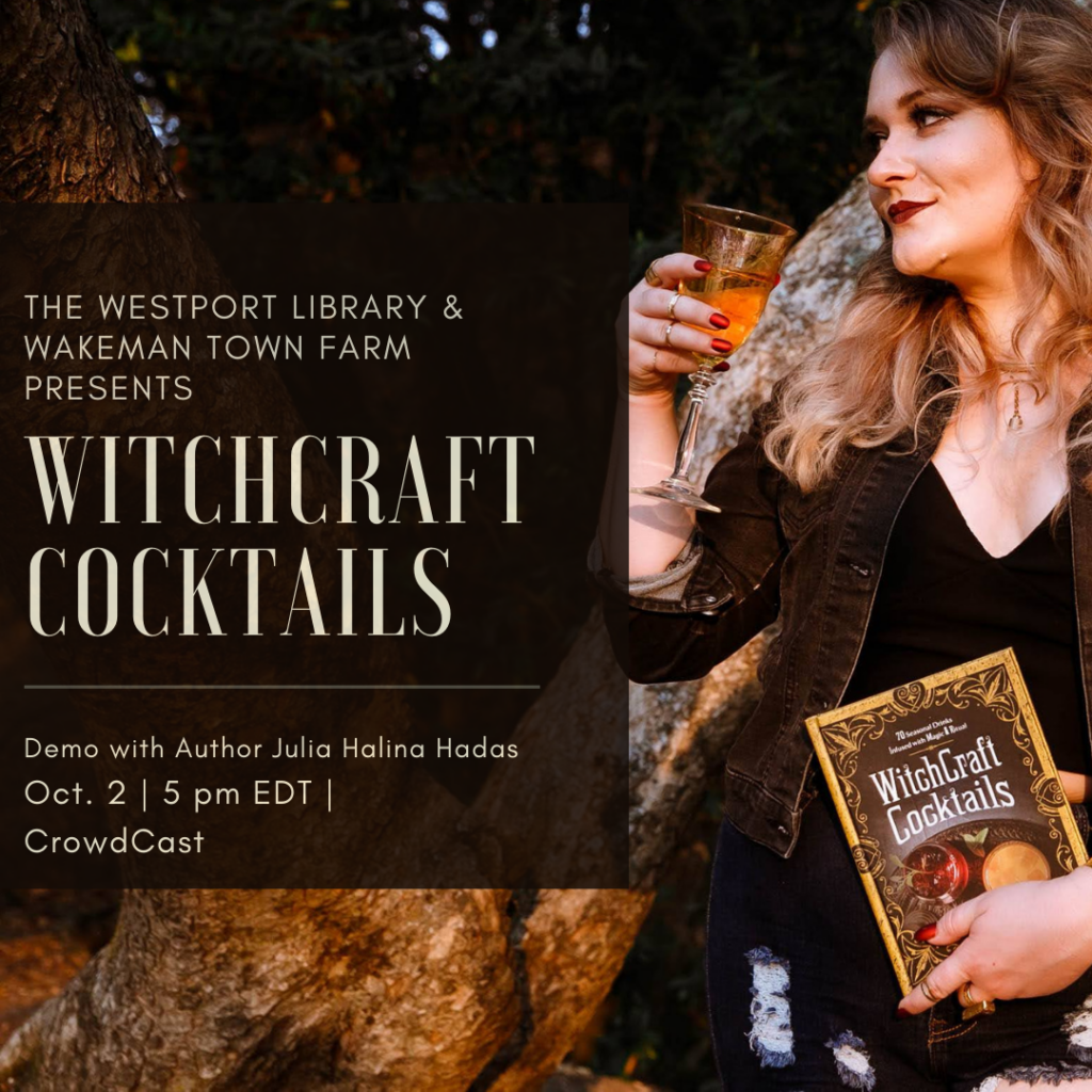 WitchCraft Cocktails at Westport Library