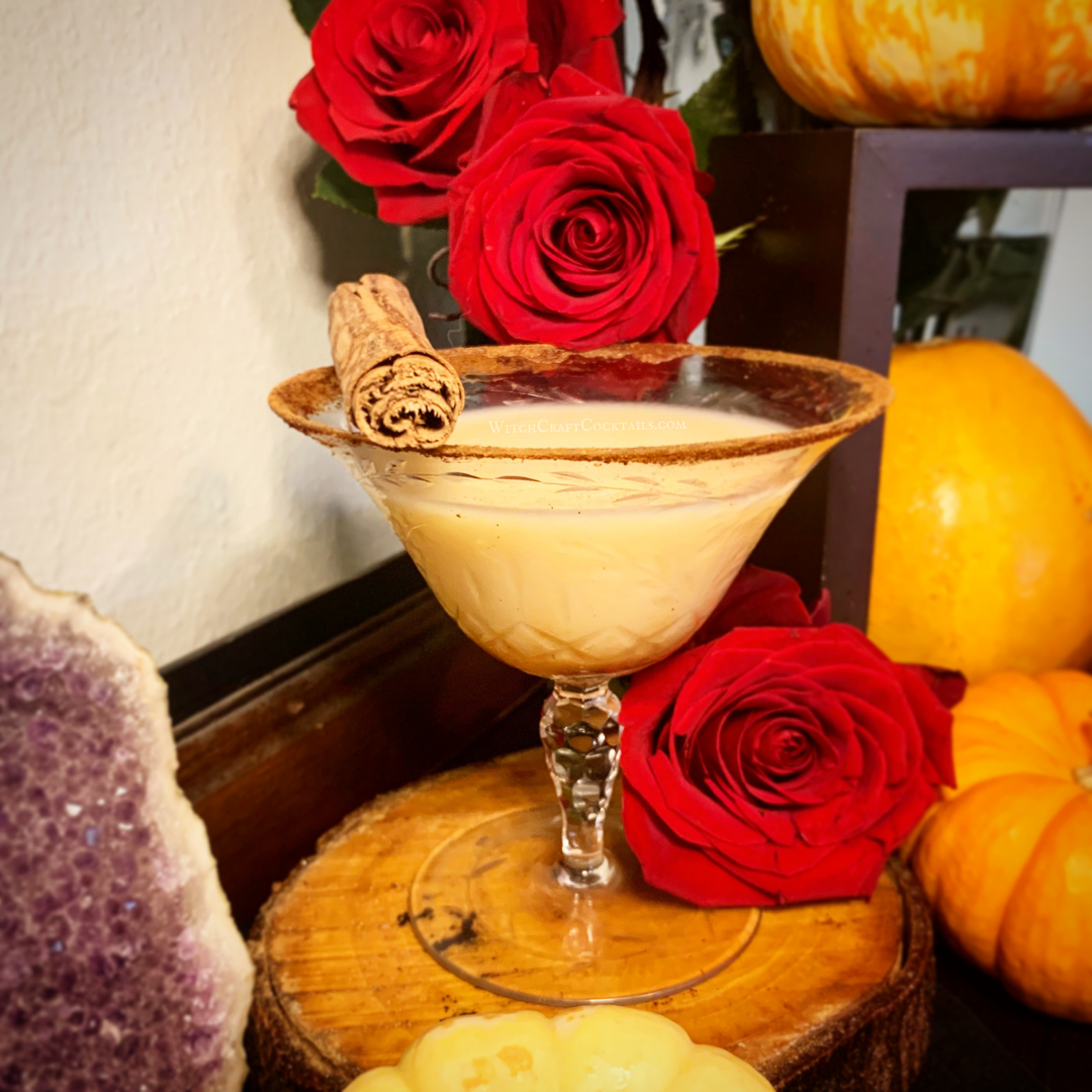 Pumpkin Cream Martini