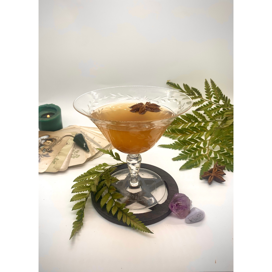 A Fig & Maple Sour: Harvest Moon Drink Recipe