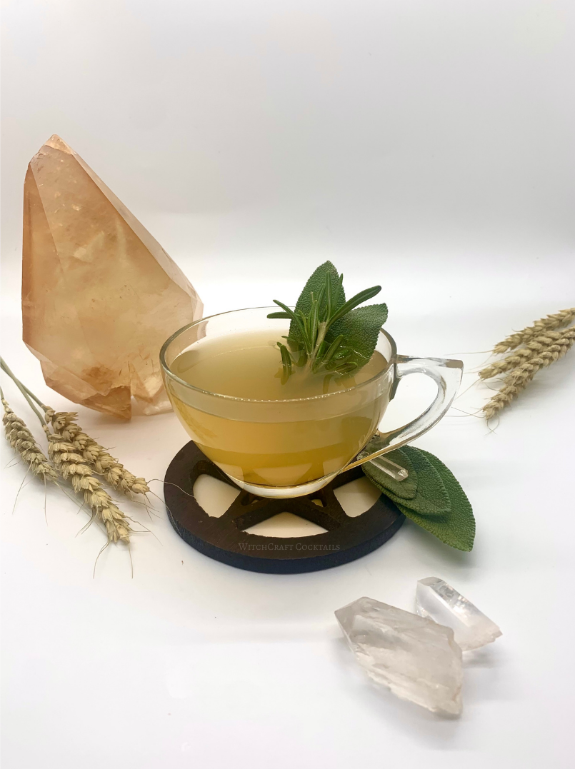 Herbal Maple Hot Toddy Drink Recipe for Fall and Autumn – Introspection, Grounding, and Cleansing