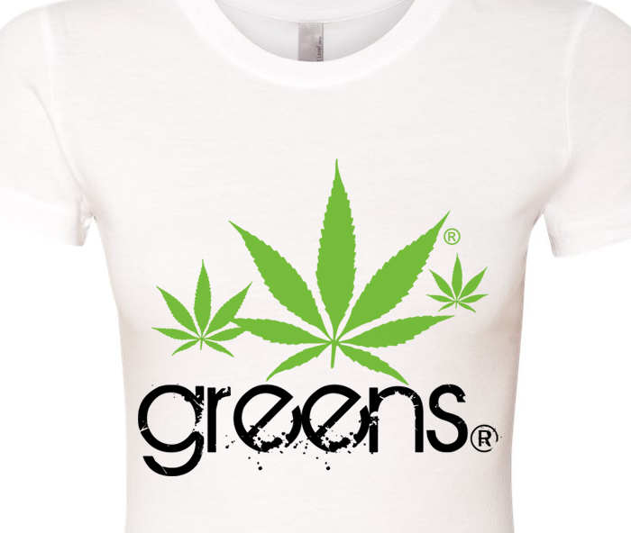 greensbrand girls shakes design white t-shirt closeup