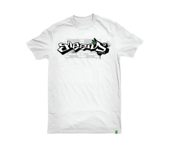 greens®brand-graph-desing-white-tshirt