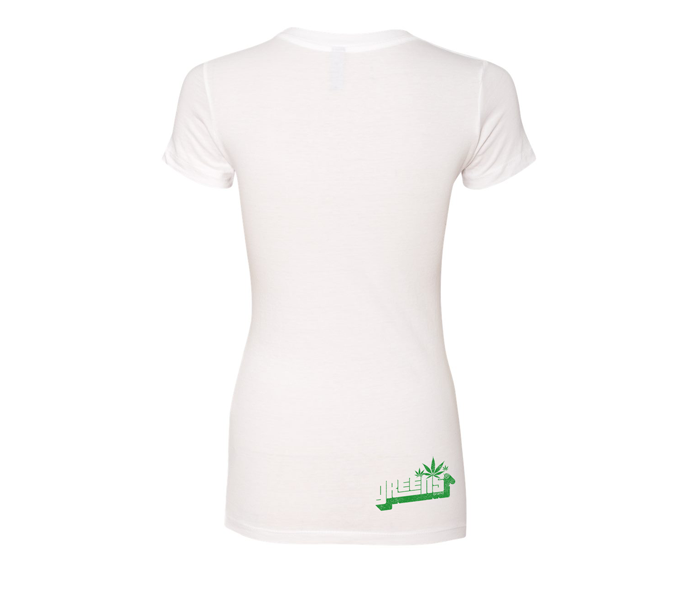 greens®brand-girls-Stampd-white-tee-back