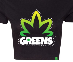 greens®brand-girls-bushy-black-croptop-closeup