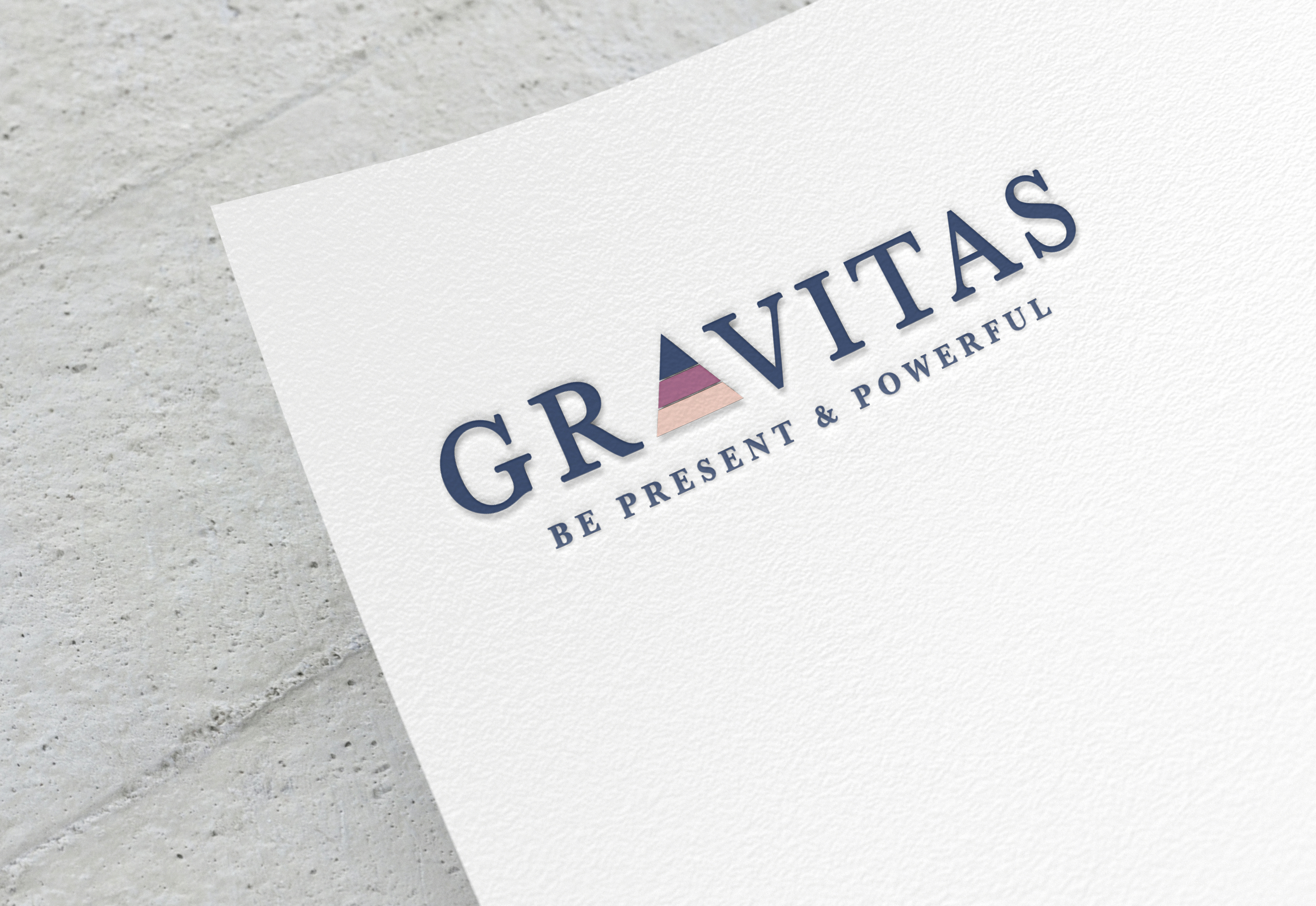 Paper Logo Mockup by Anthony Boyd Graphics