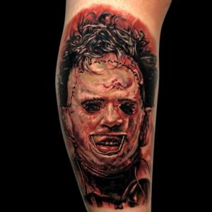 Best Horror Portrait Tattoos In Los Angeles