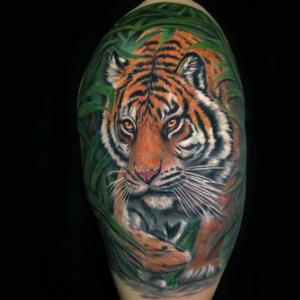 Best Tiger Tattoo In Northridge