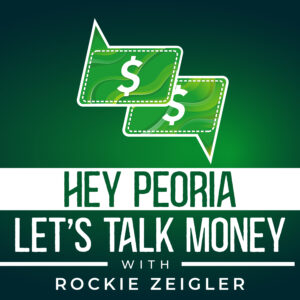 Hey Peoria Let's Talk Money - Logo