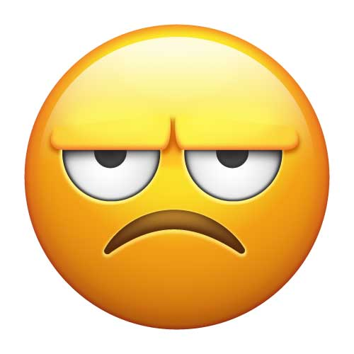 Frustrated Emoticons Vector Images (over 370)