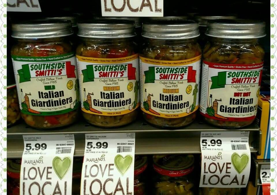 Southside Smitti's in all Mariano's Stores!!!