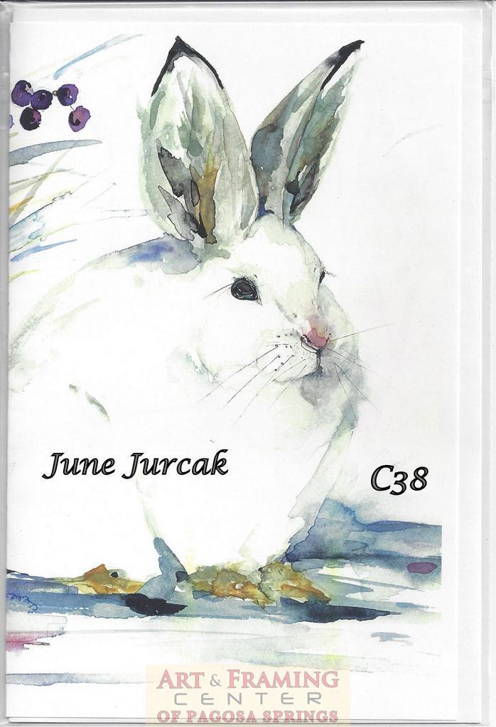 card bunny winter