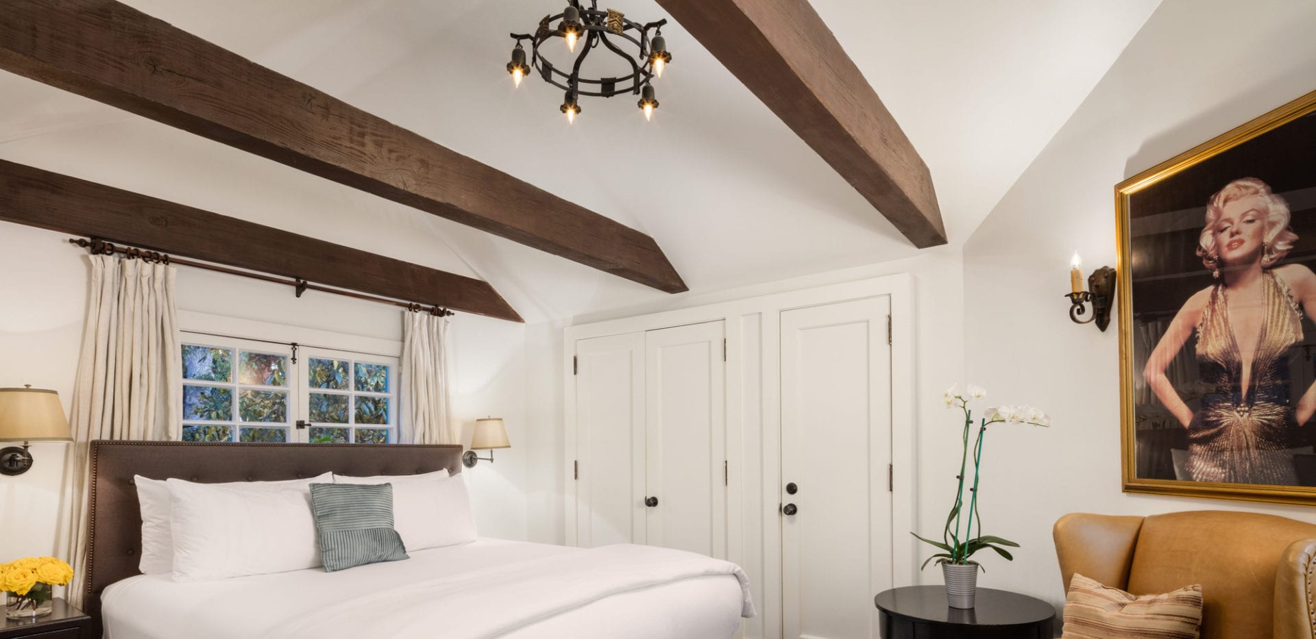 Marilyn bedroom