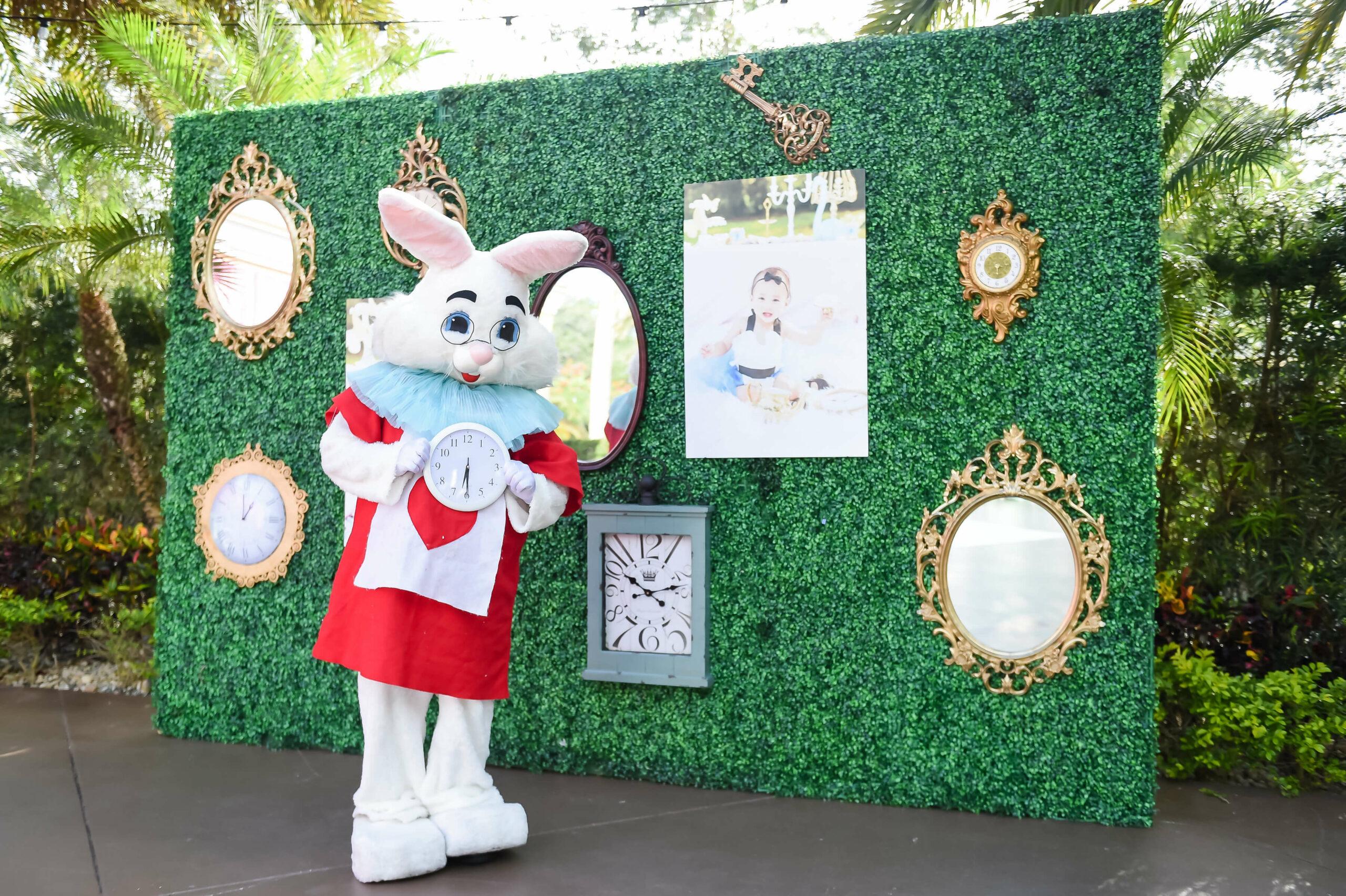 Graycen's Alice and Wonderland 1st Birthday