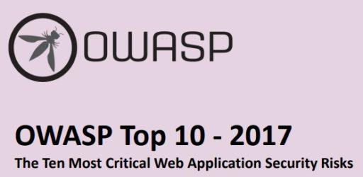 OWASP Top 10 2017 Web Application Security Risks