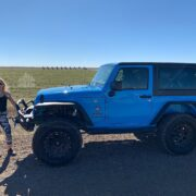 [catie's corner] Exploring Cadillac Ranch with Make Her Mean!