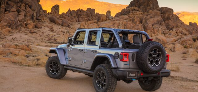 The 2021 Jeep Wrangler 4XE Is Here!