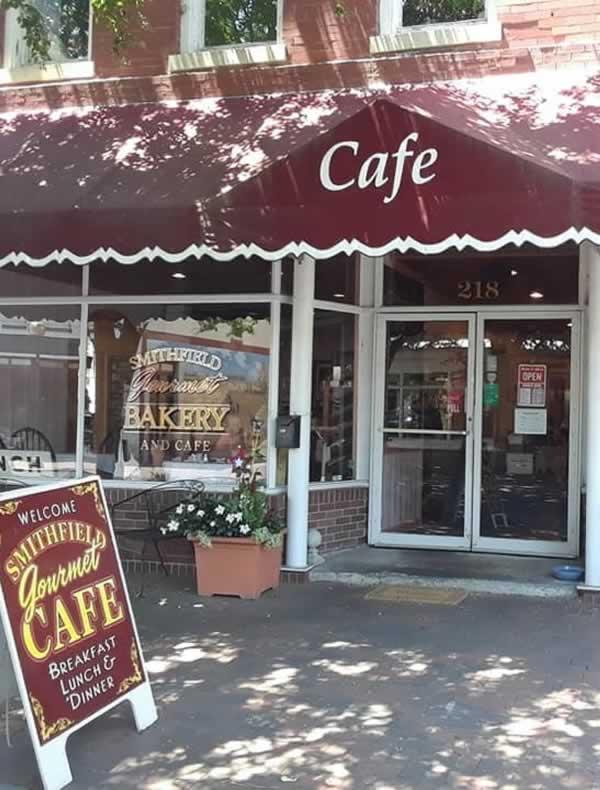 Smithfield Gourmet Cafe Storefront