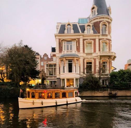 notary boat Amsterdam Light Festival