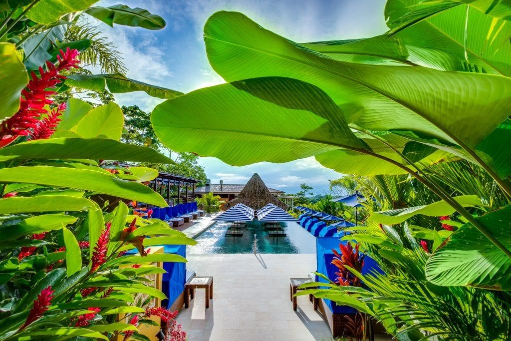 Pool at Nayara Gardens in Costa Rica