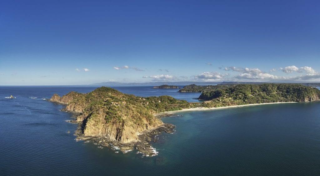 View of Peninsula Papagayo