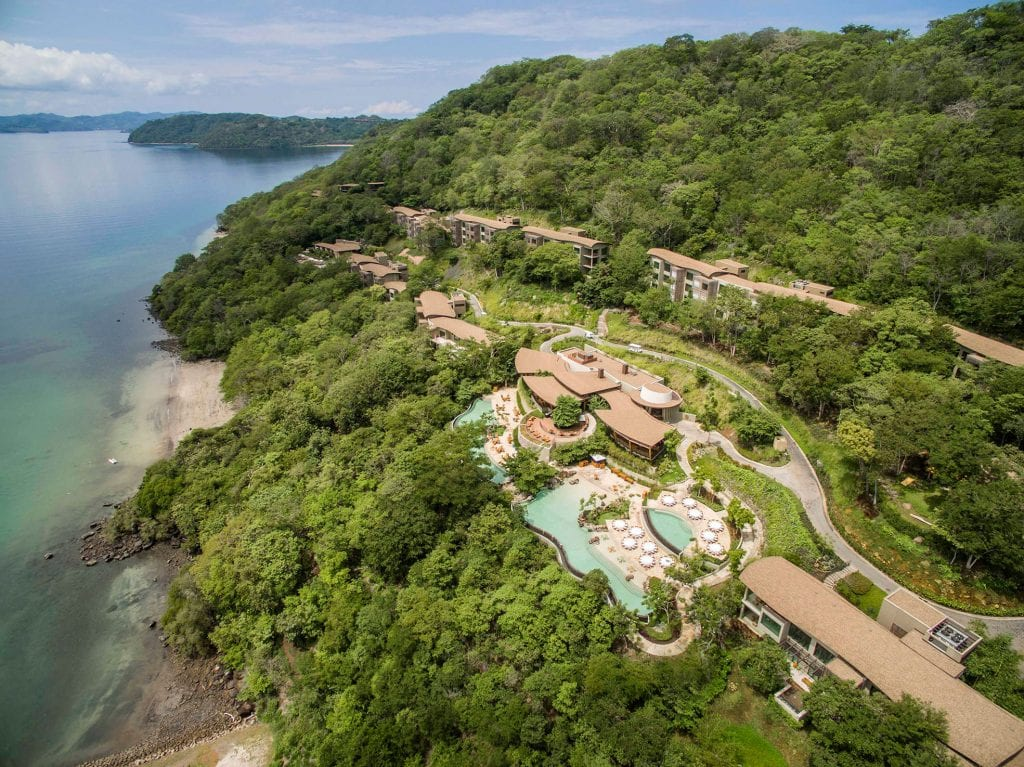 Aerial view of the Andaz Costa Rica