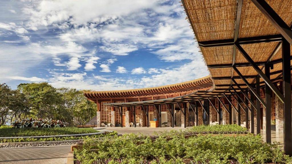 Four Seasons Costa Rica Entrance