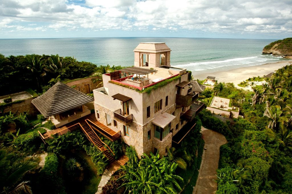 View of villas at Imanta resort in Riviera Nayarit