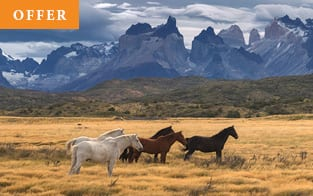 Chile travel promotion with Abercrombie & Kent