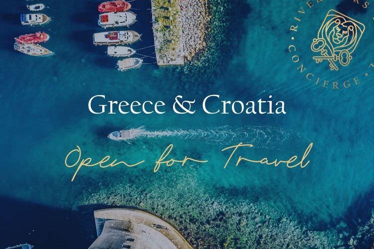Greece & Croatia Open For Travel