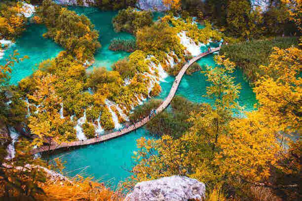 Plitvice Lakes - Croatia travel destinatio