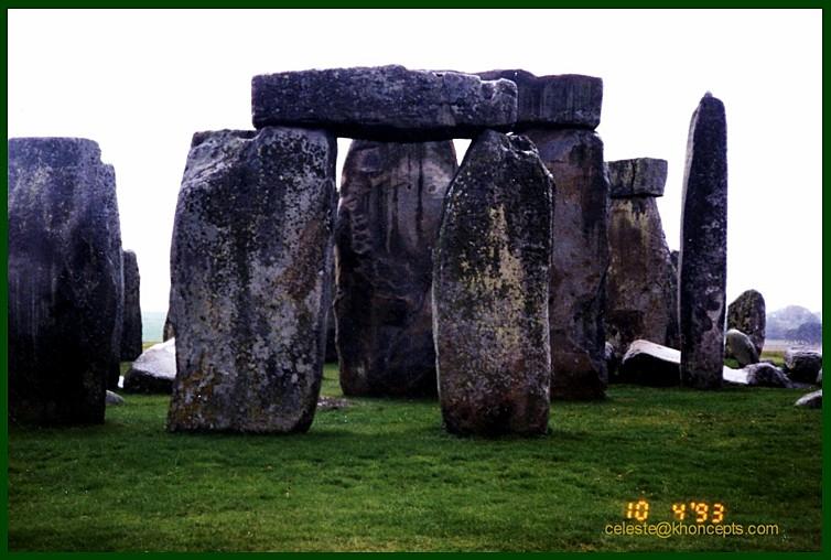How Stonehenge looked in 1993