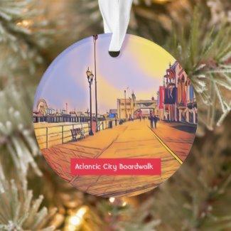 Atlantic City Christmas tree ornament